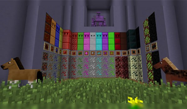 image of a panel full of new items added mod crazyores.