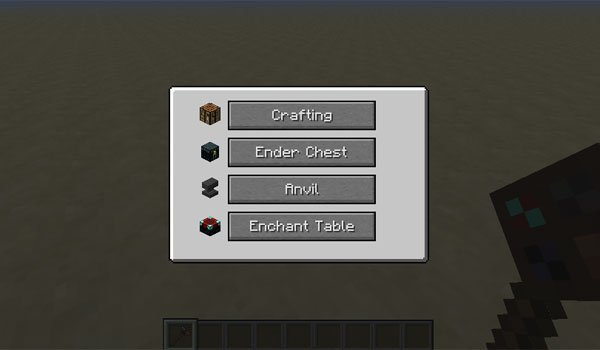 image where you can see the new interface for simple portables 1.7.10.