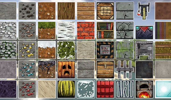 image where we see the new textures that adds bordercraft pack 1.8.
