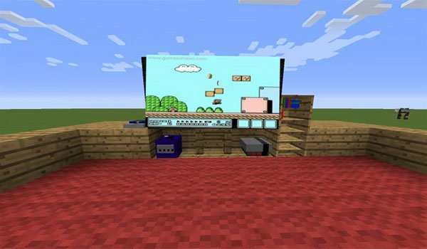 image where we some consoles example , the system mod decorative game systems mod 1.7.10 .