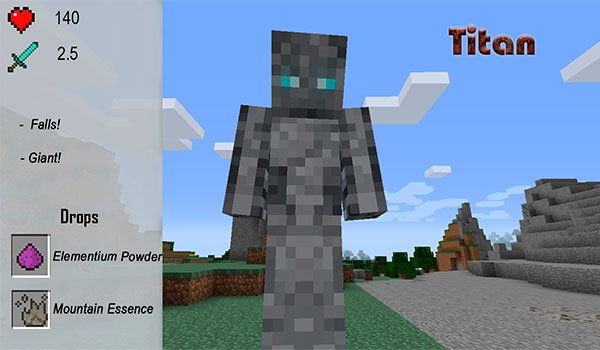 image of one of the new enemies mod adds xtracraft 1.7.10.